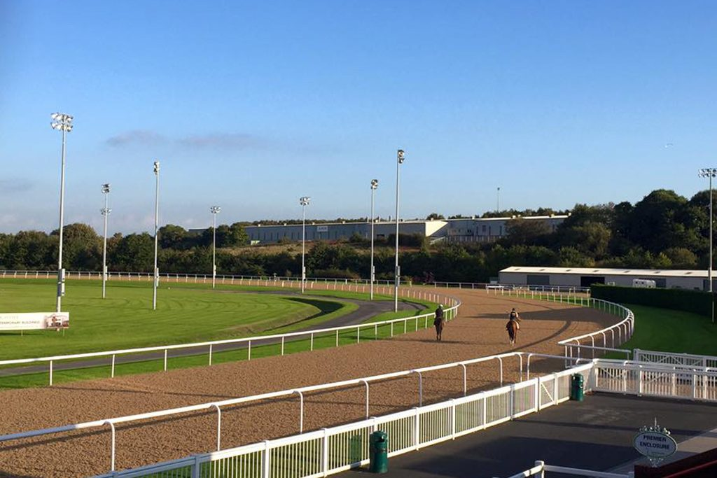 Wolverhampton racecourse outside